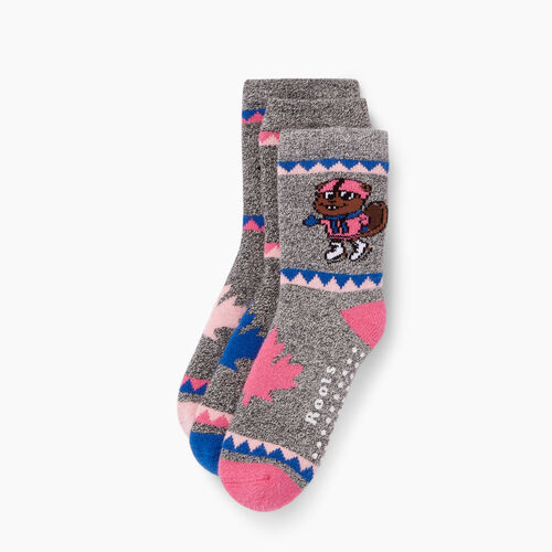 Roots-Kids Accessories-Toddler Buddy Sock 3 Pack-Multi-A