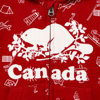 Roots-undefined-Baby Canada Aop Full Zip Hoody-undefined-D