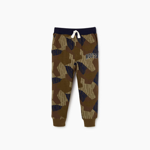 Roots-Clearance Kids-Toddler Nova Scotia Camo Sweatpant-Camo Print-A