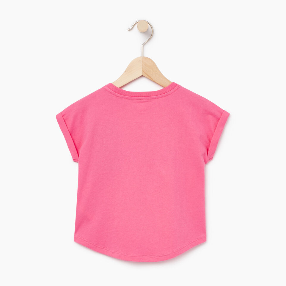 Roots-Kids Our Favourite New Arrivals-Toddler Camp T-shirt-Azalea Pink-B