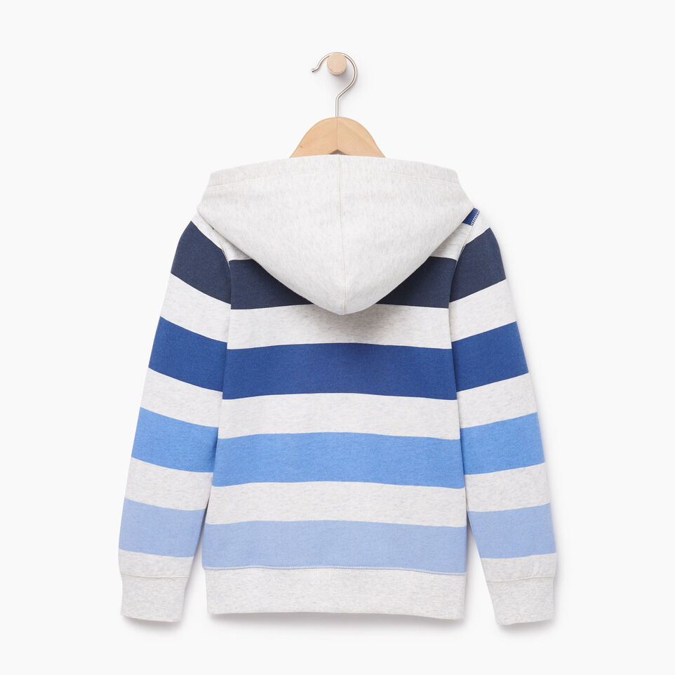 Roots-Kids Our Favourite New Arrivals-Boys Ombre Stripe Full Zip Hoody-White Mix-B