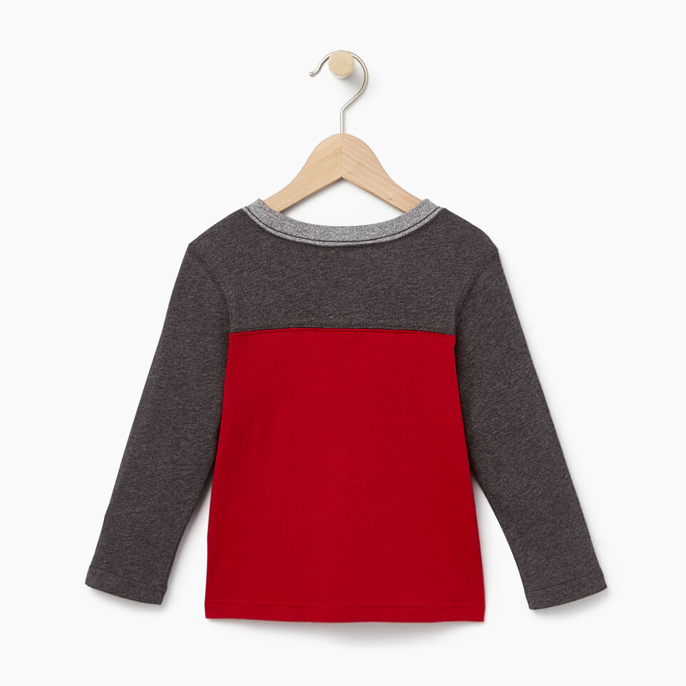 Roots-undefined-Toddler Colourblock Pocket T-Shirt-undefined-B