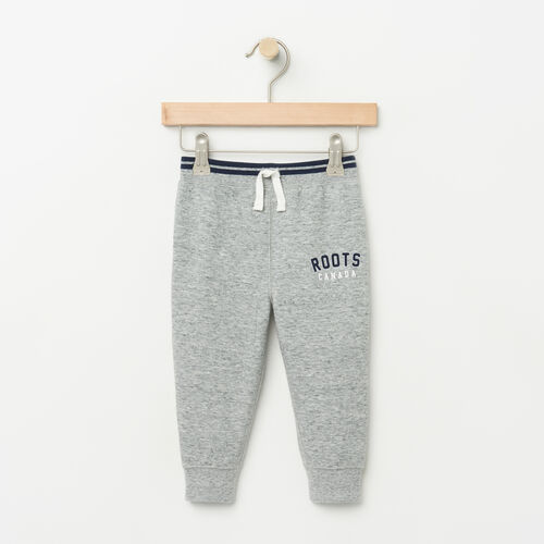 Roots-Kids Baby-Baby Walden Varsity Pant-Grey Mix-A