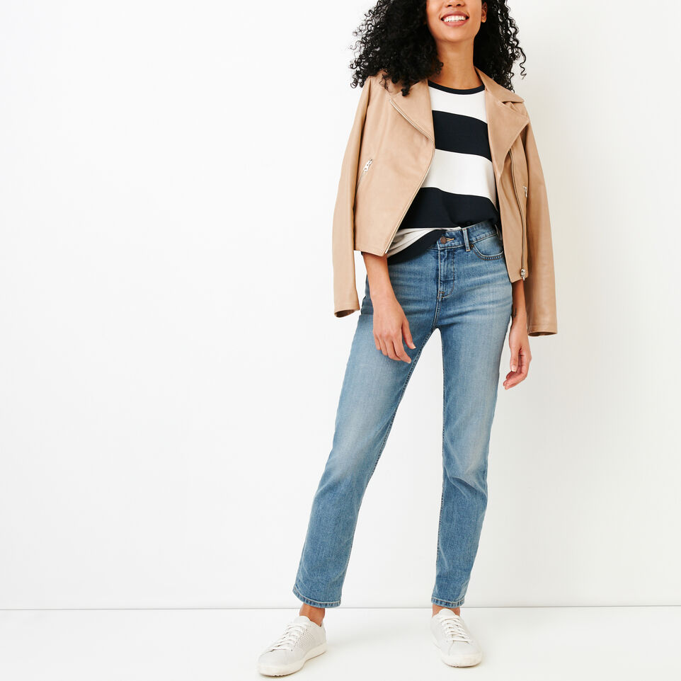 Roots-Women Our Favourite New Arrivals-Cayley Top-Navy Blazer-B