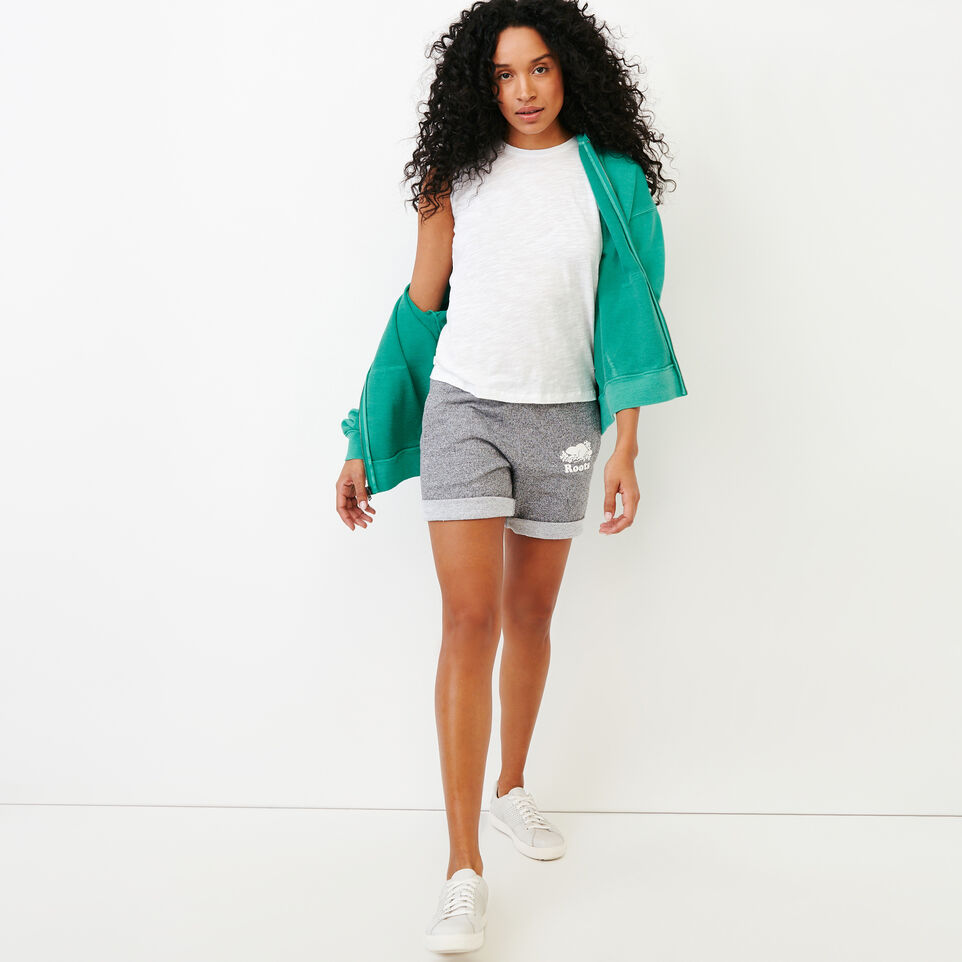 Roots-Women Our Favourite New Arrivals-Kelowna Full Zip Hoody-Sea Green-B