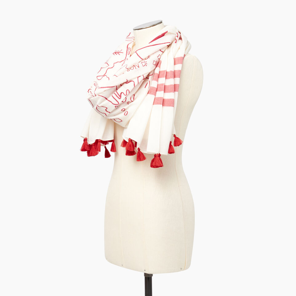 Roots-Women Our Favourite New Arrivals-Canada Sarong-Cannoli Cream-C