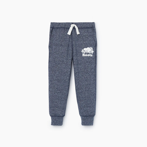 Roots-Sweats Toddler Boys-Toddler Park Slim Sweatpant-Navy Blazer Pepper-A