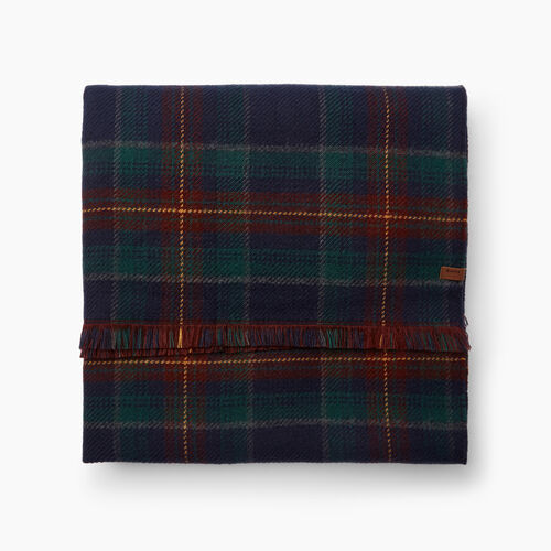 Roots-Women Accessories-Harvest Plaid Scarf-Multi-A