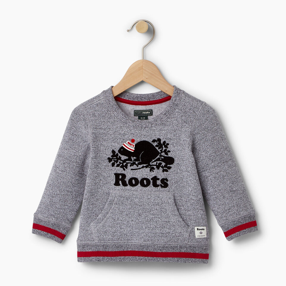 Roots-undefined-Baby Buddy Crew Sweatshirt-undefined-A
