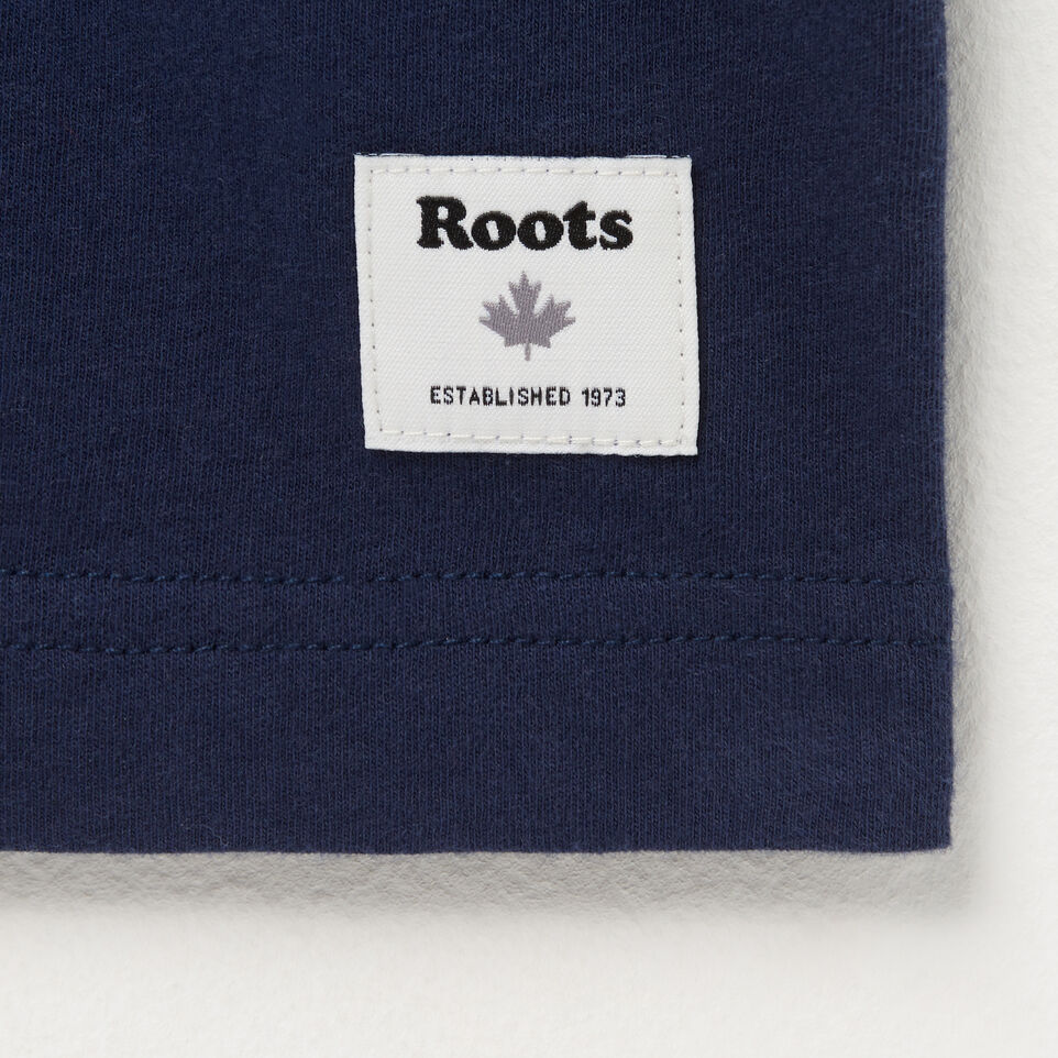 Roots-undefined-Mens Roots Spell Out T-shirt-undefined-C