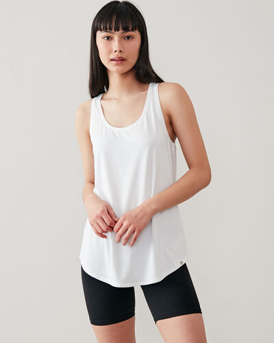 Roots-New For This Month Journey Collection-Journey Tank-Crisp White-A