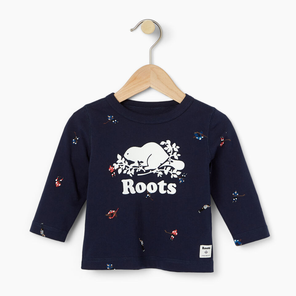 Roots-undefined-Baby Hockey AOP T-shirt-undefined-A