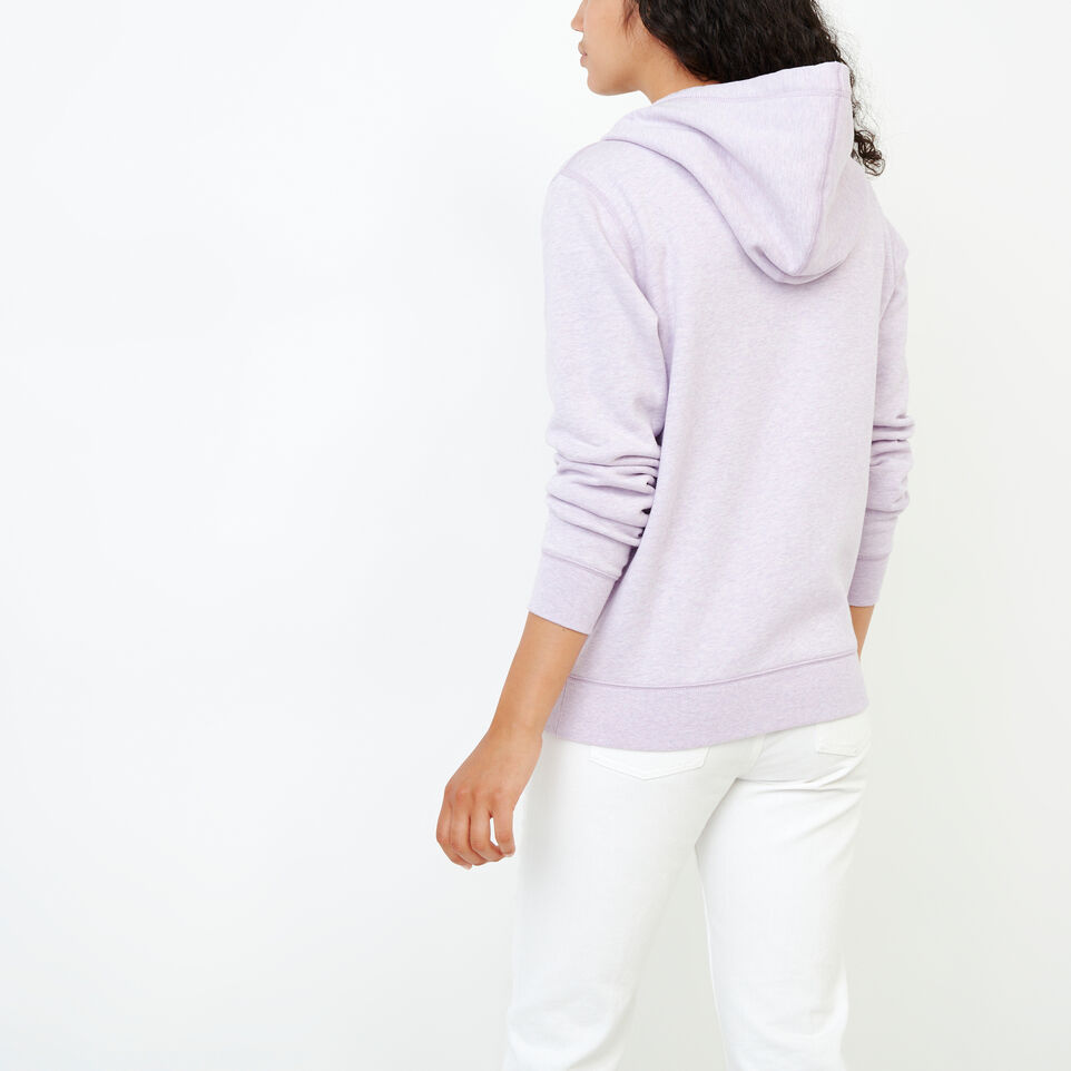 Roots-Women Categories-Classic Full Zip Hoody-Lupine Mix-D