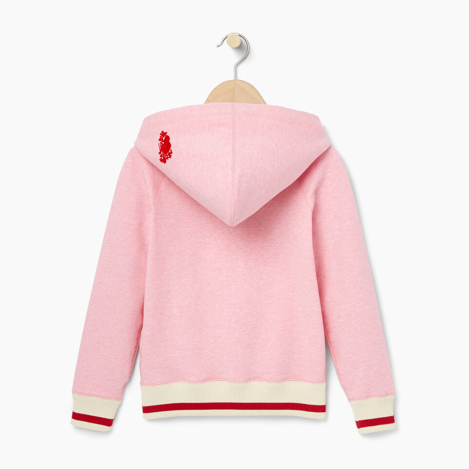 Roots-undefined-Girls Cabin Full Zip Hoody-undefined-B