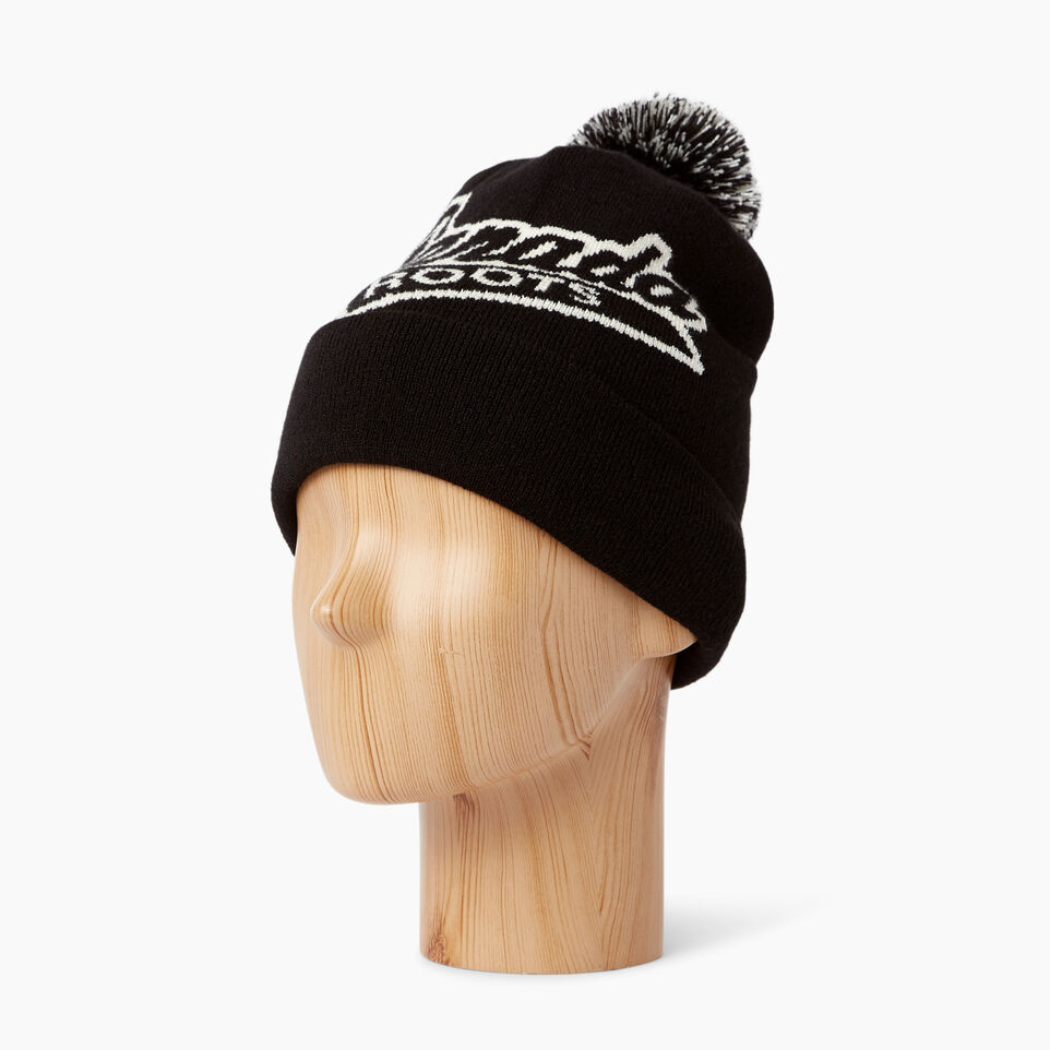 Roots-Women Canada Collection By Roots™-Canada Pom Pom Toque-Black-B