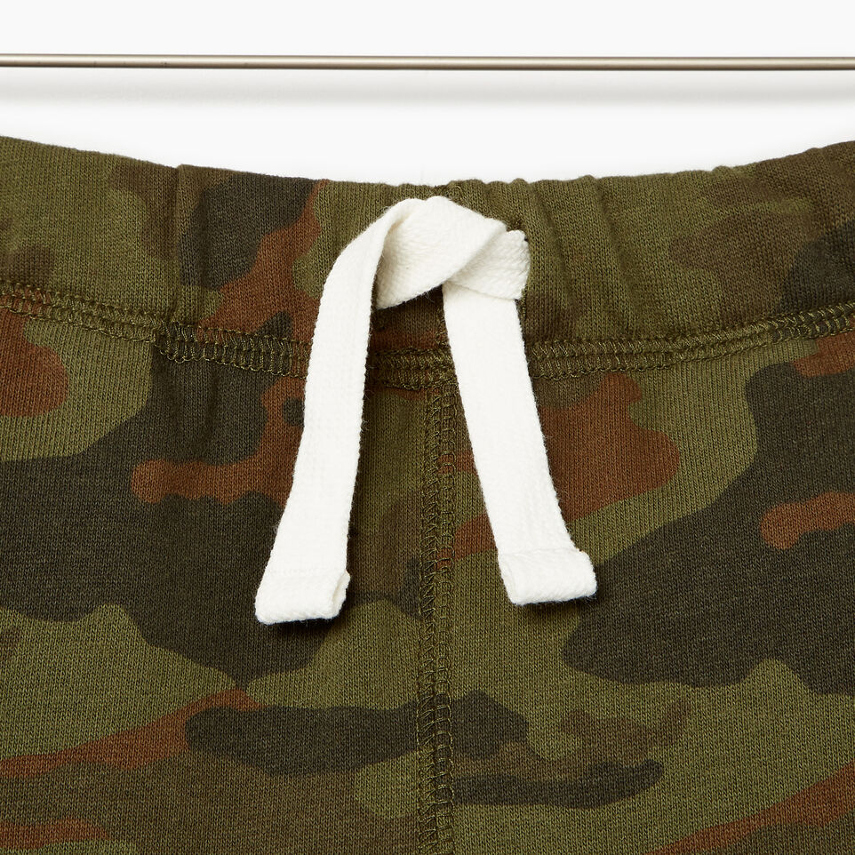 Roots-Kids Our Favourite New Arrivals-Boys Camo Short-Winter Moss Green-C