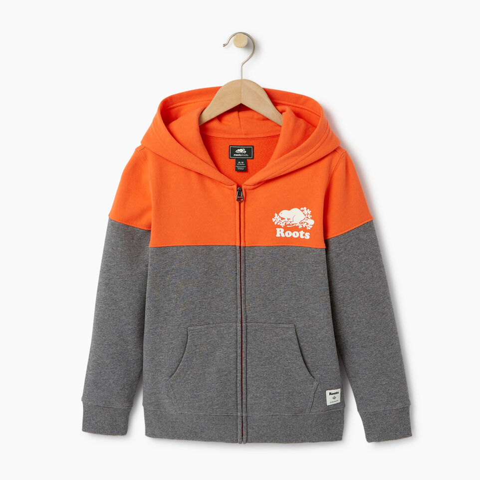 Roots-Kids Our Favourite New Arrivals-Boys Colour Block Cooper Hoody-Medium Grey Mix-A