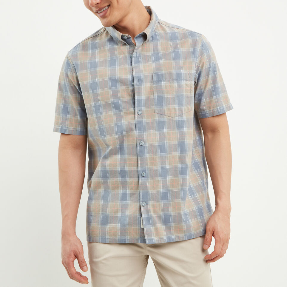 Roots-undefined-Parksville Short Sleeve Shirt-undefined-A
