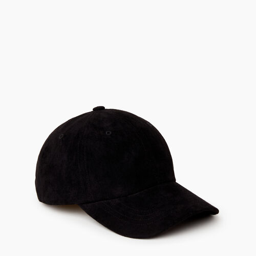 Roots-Women Categories-Alexa Baseball Cap-Black-A