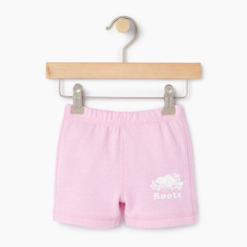 Roots-Kids Categories-Baby Original Roots Short-Pastl Lavender Pper-A