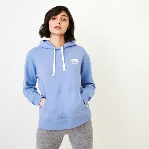 Roots-New For March Sweats-Aurora Hoody-Blue Bonnet-A