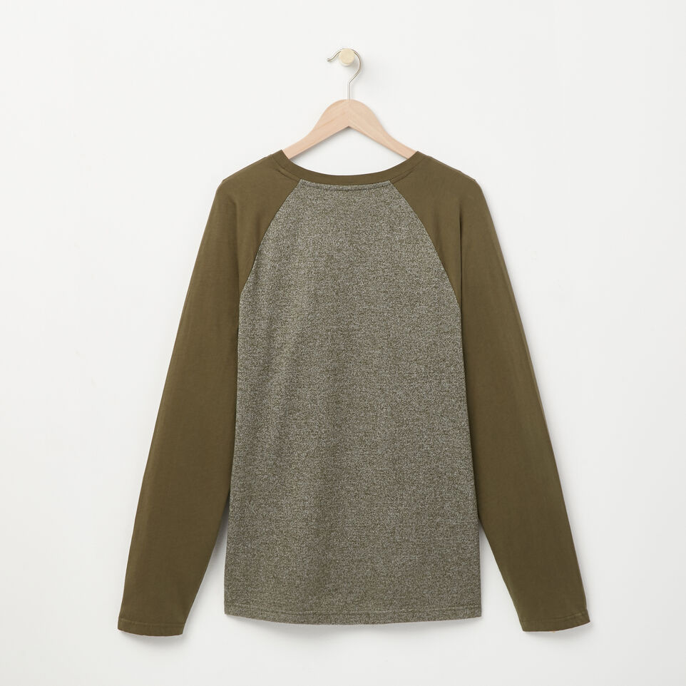 Roots-undefined-Cooper Beaver Raglan T-shirt-undefined-B
