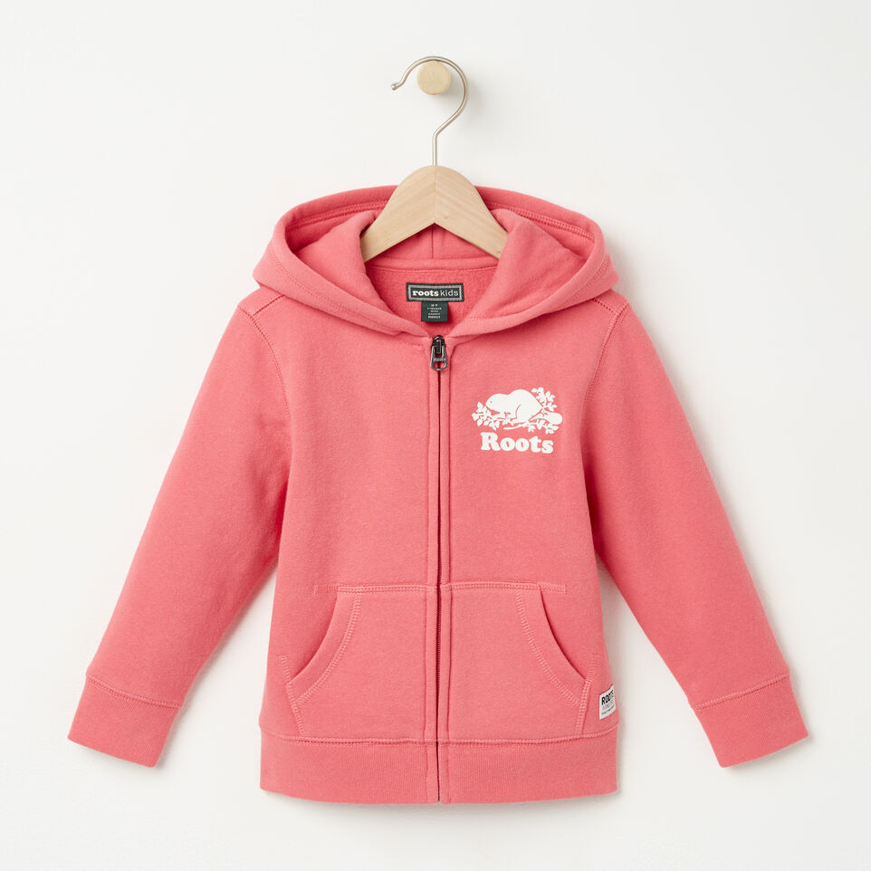 Roots-undefined-Tout-Petits Original Full Zip Hoody-undefined-A
