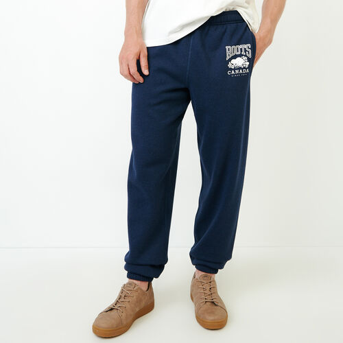 Roots-Men Our Favourite New Arrivals-Classic Relaxed Sweatpant-Navy Blazer Mix-A
