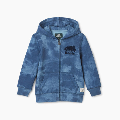 Roots-Kids New Arrivals-Toddler Original Full Zip Hoody-Federal Blue-A