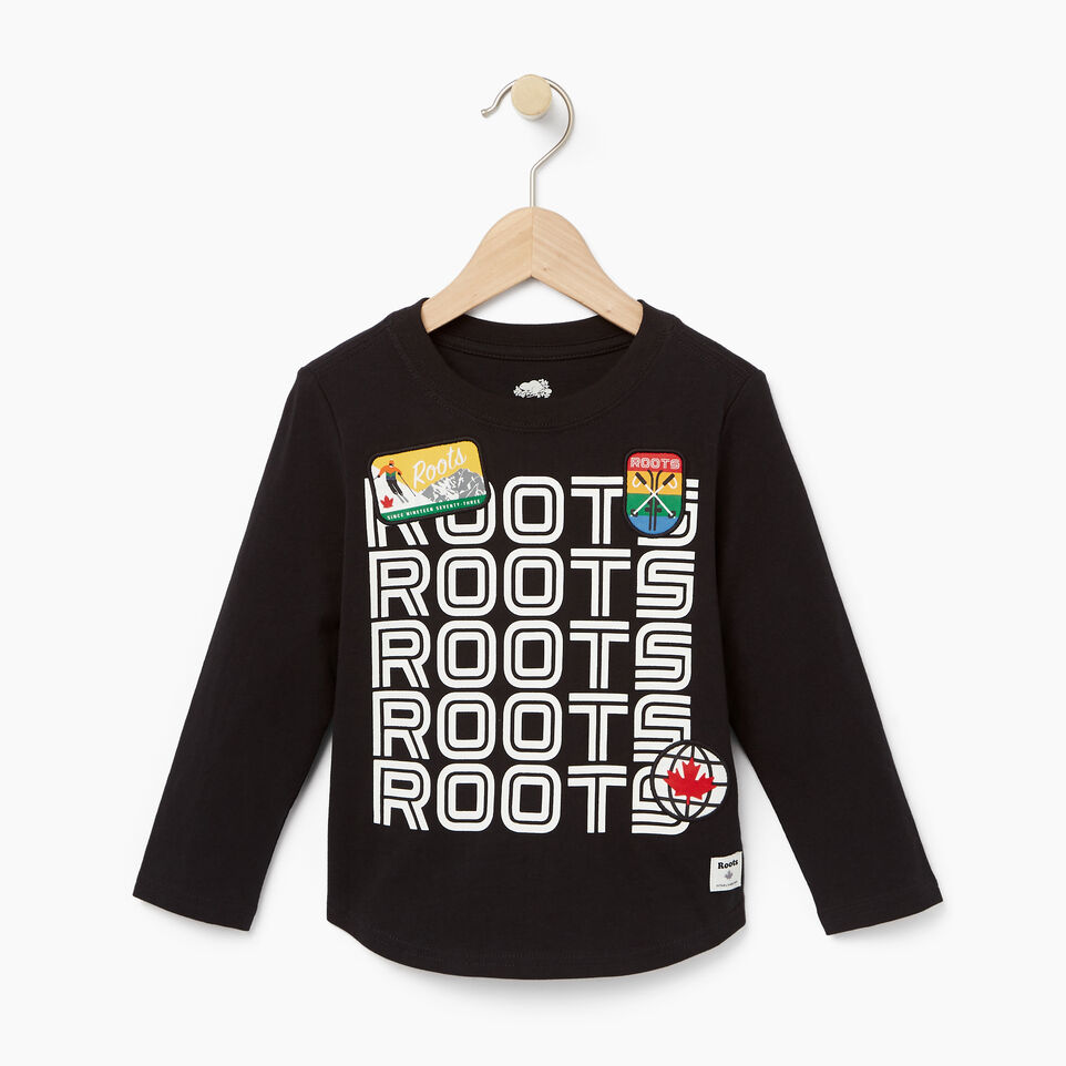 Roots-undefined-Toddler Ski Patch T-shirt-undefined-A
