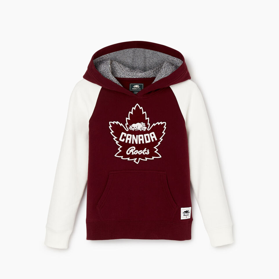 Roots-Kids Categories-Girls Canada Kanga Hoody-Northern Red-A