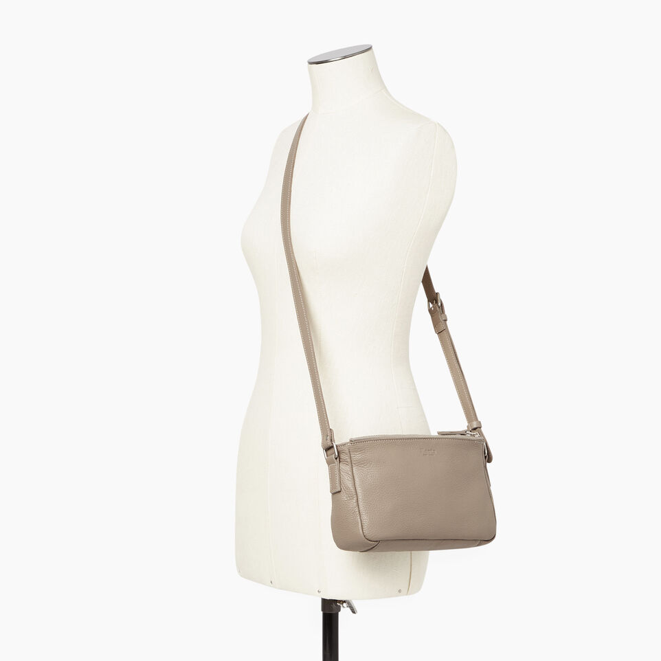 Roots-Leather Our Favourite New Arrivals-Main Street Crossbody-Flint Grey-B