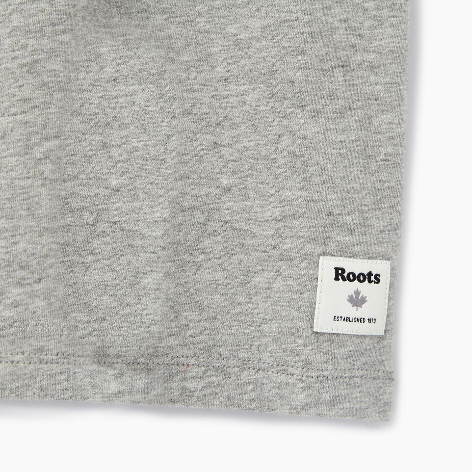Roots-Women Our Favourite New Arrivals-Womens Cooper Beaver T-shirt-Grey Mix-C