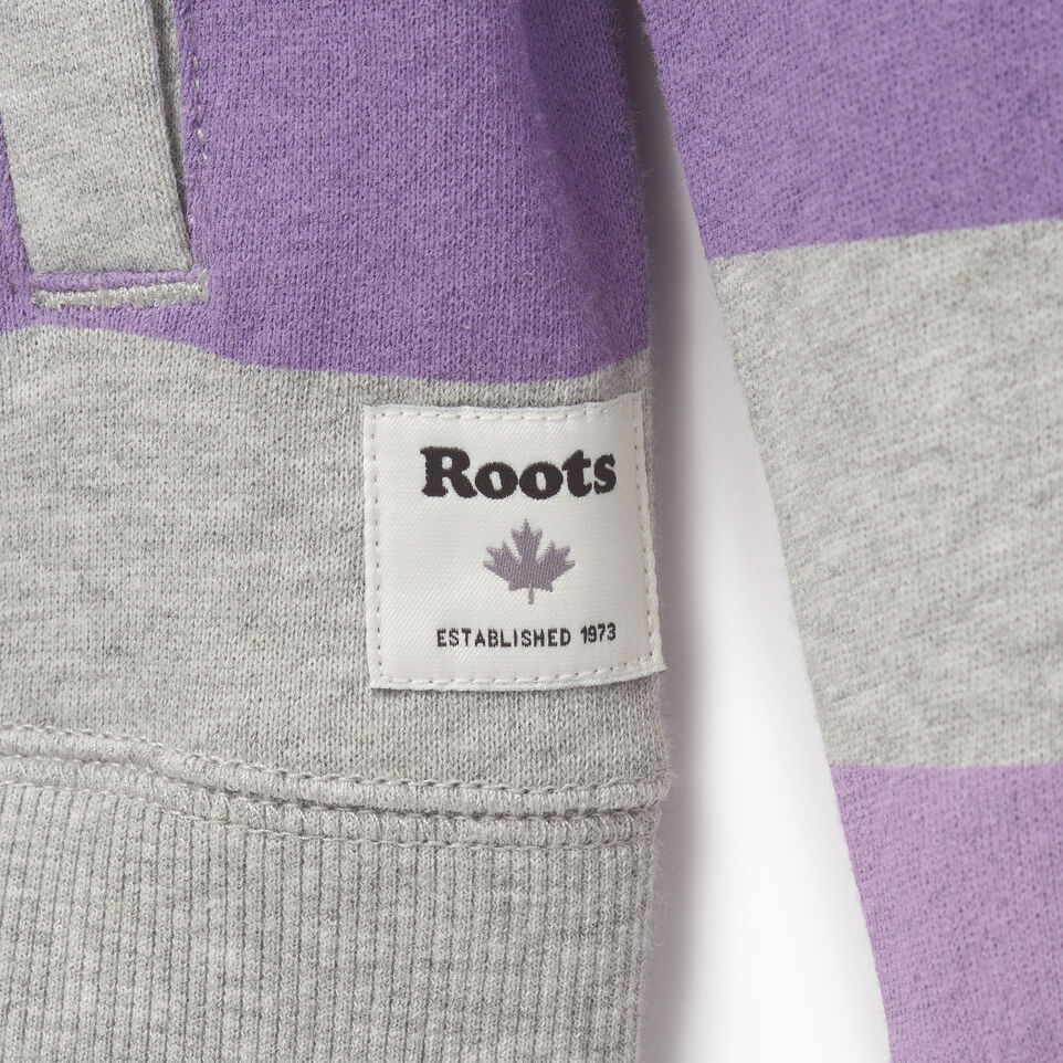 Roots-Kids Our Favourite New Arrivals-Girls Ombre Stripe Full Zip Hoody-Grey Mix-C