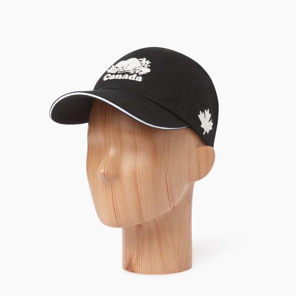 Roots-Women Our Favourite New Arrivals-Canada Baseball Cap-Black-B