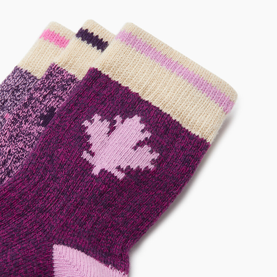 Roots-undefined-Toddler Maple Sock 3 Pack-undefined-C