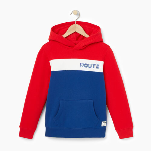 Roots-Winter Sale Boys-Boys Sportsmas Kanga Hoody-Active Blue-A