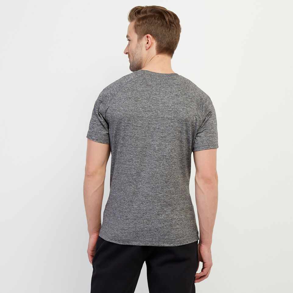 Roots-New For February Journey Collection-Journey T-Shirt-Charcoal Pepper-D