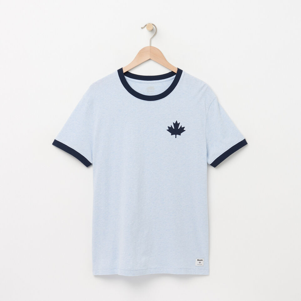 Roots-Mens Canada Cabin Ringer T-shirt