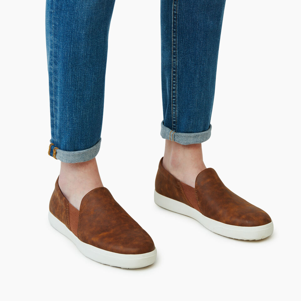 Roots-Footwear Our Favourite New Arrivals-Womens Annex Slip On-Natural-B