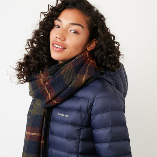 Roots-Women Accessories-Cumberland Scarf-Navy-A