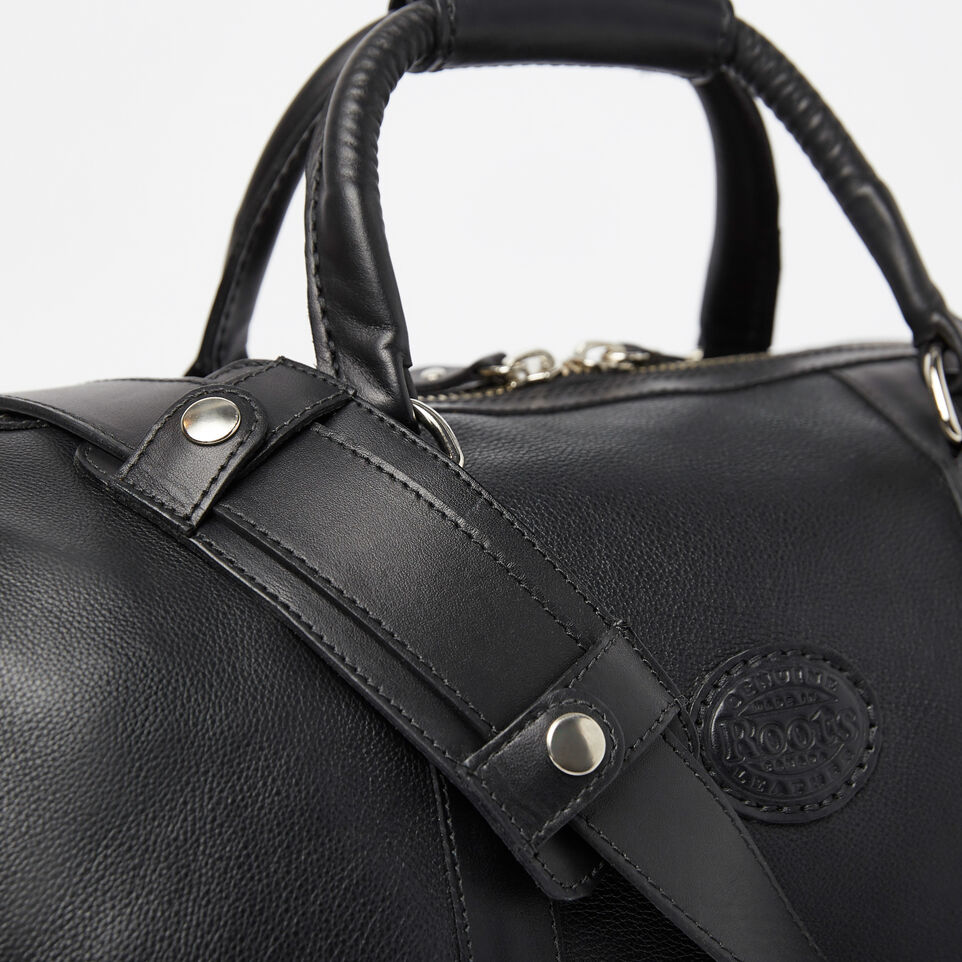 8680729076c5c8 Small Banff Bag Prince. Roots-Leather Handcrafted By Us Weekender Bags-Small  ...