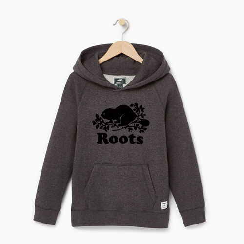 Roots-Kids Our Favourite New Arrivals-Boys Original Kanga Hoody-Charcoal Mix-A