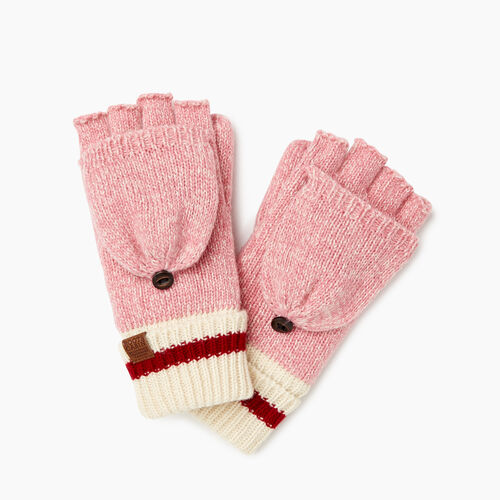 Roots-Sale Kids-Kids Cabin Flip Mitt-Cashmere Rose Pepper-A