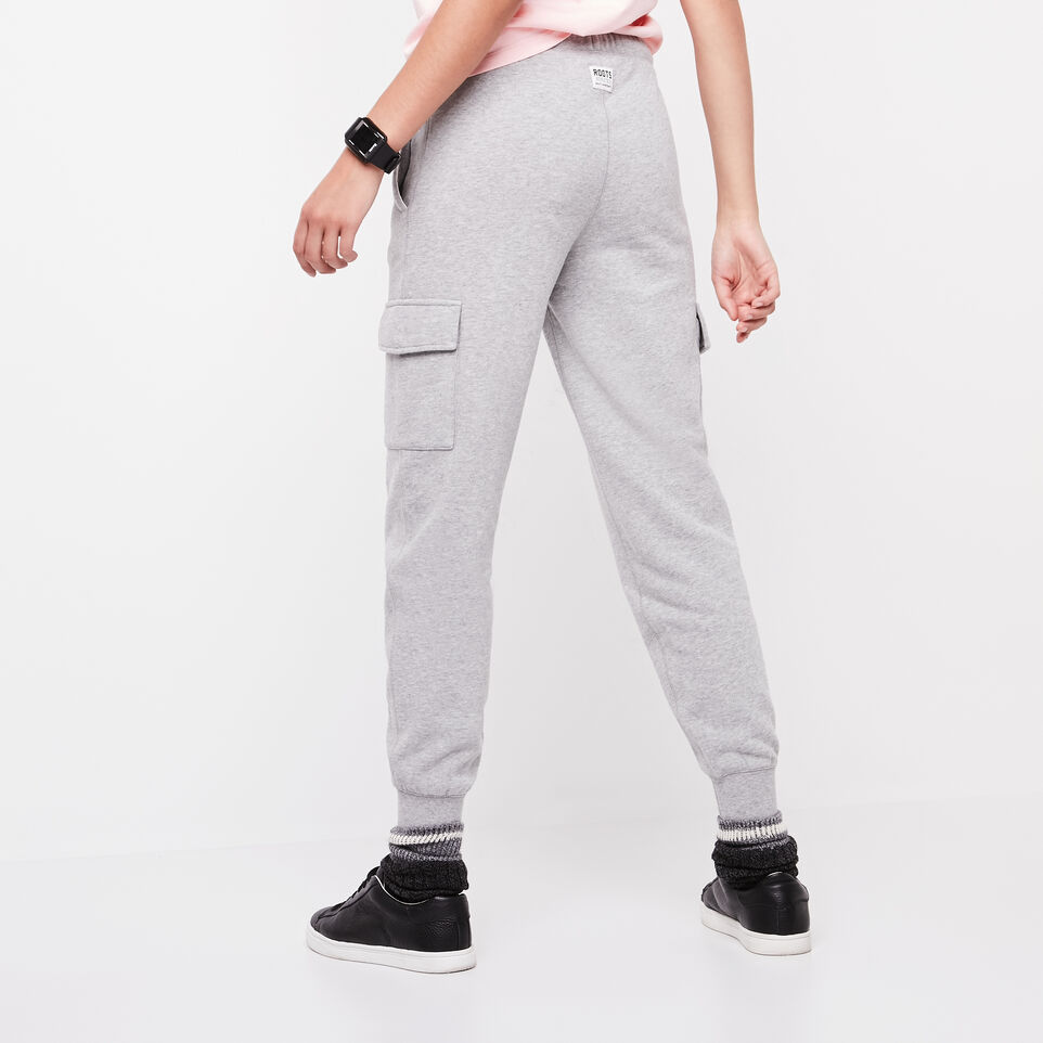 Roots-undefined-Slim Cargo Sweatpant-undefined-D