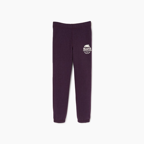Roots-Kids Our Favourite New Arrivals-Girls Laurel Sweatpant-Blackberry Mix-A