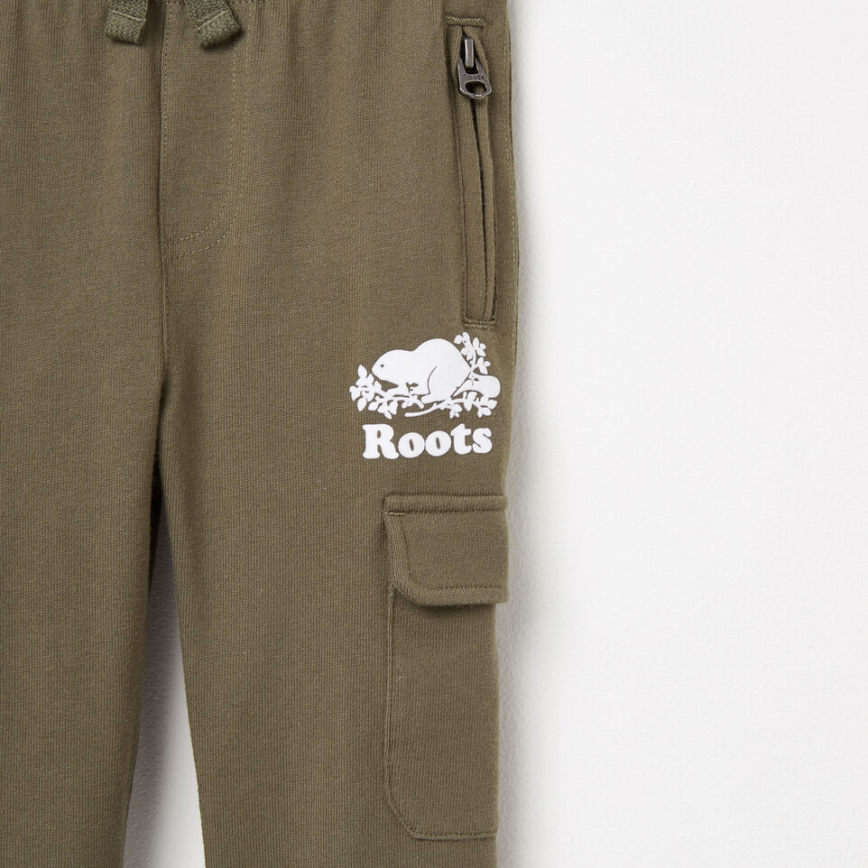 Roots-undefined-Toddler Heavyweight Jersey Utility Pant-undefined-D