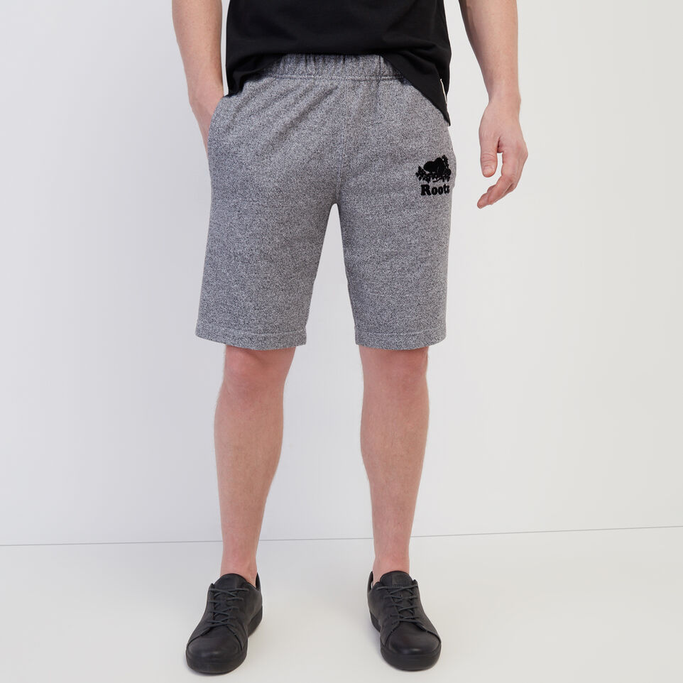 Roots-Men New Arrivals-Original Sweatshort-Salt & Pepper-A