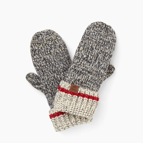 Roots-New For November The Roots Cabin Collection™-Chunky Cabin Mitt-Grey Oat Mix-A