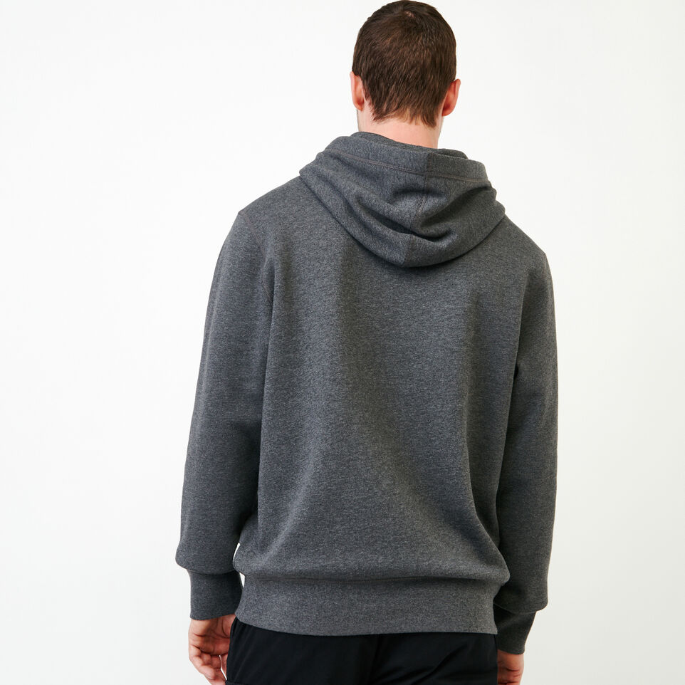 Roots-Men Our Favourite New Arrivals-Classic Kanga Hoody-Charcoal Mix-D